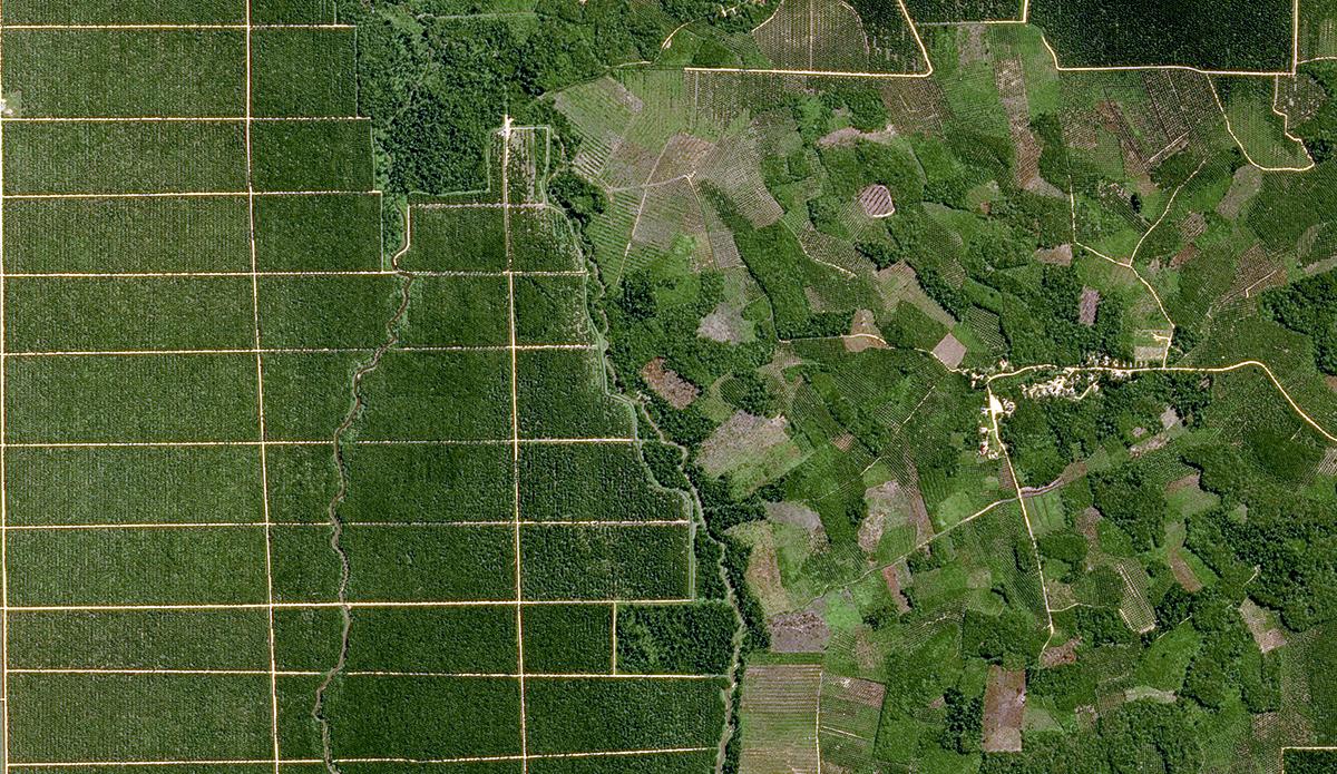 Satellite Image SPOT - Sumatra