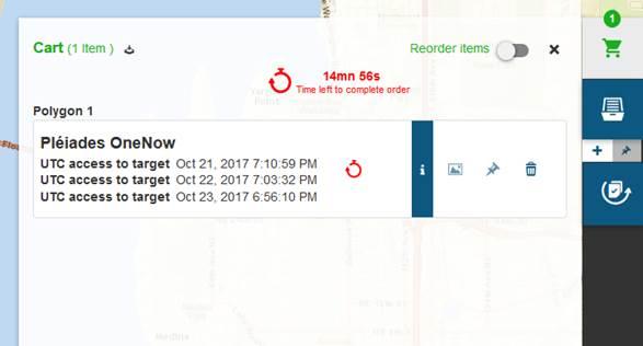 Alert order expiration - screenshot