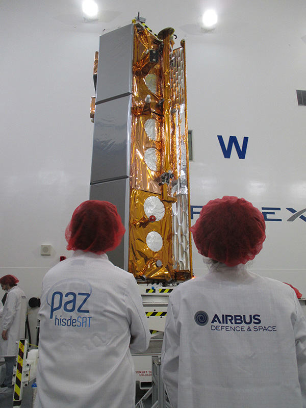 Airbus-built Paz radar satellite