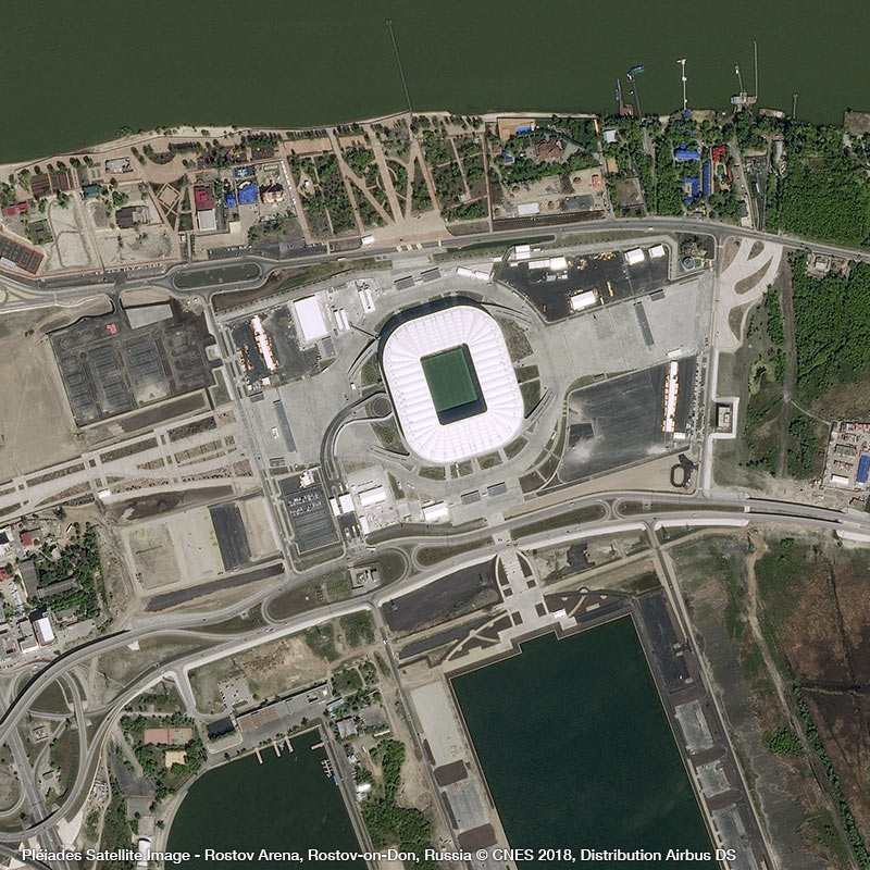 Pléiades Satellite Image - Rostov Arena