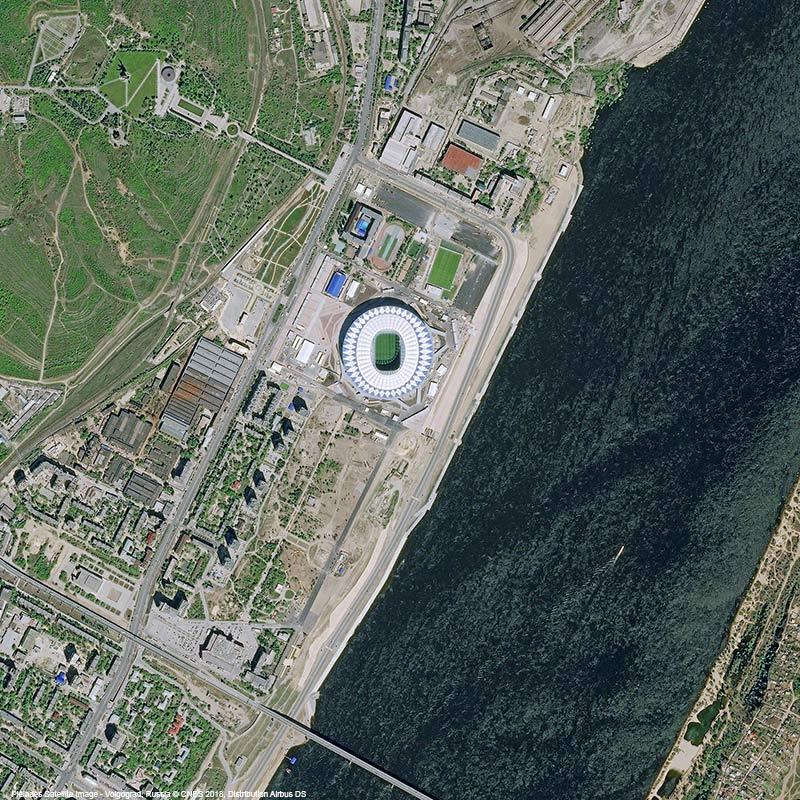 Pléiades Satellite Image - Volgograd Arena