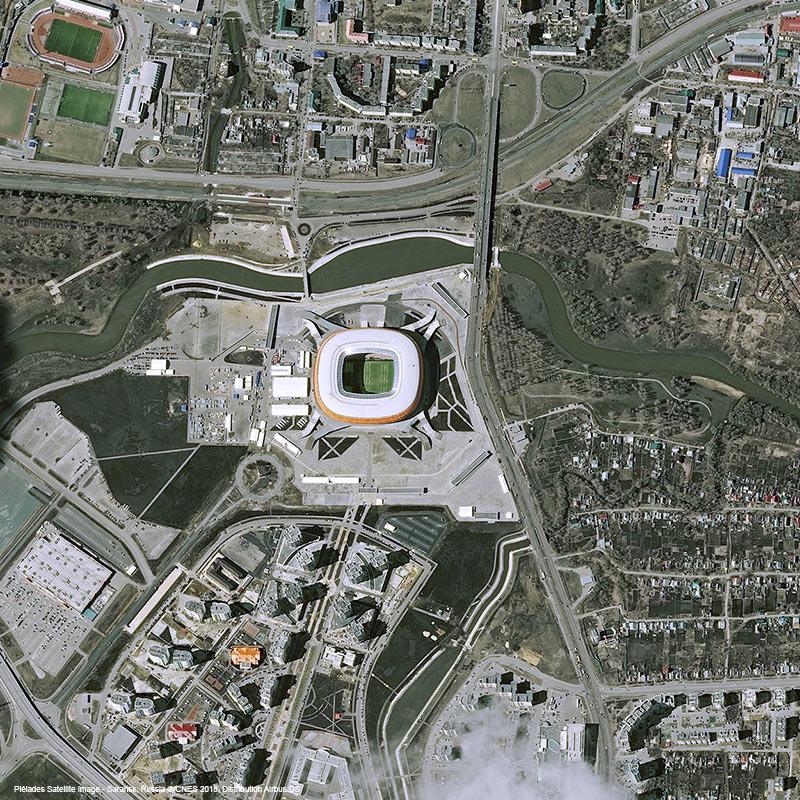 Pléiades Satellite Image - Mordovia Arena