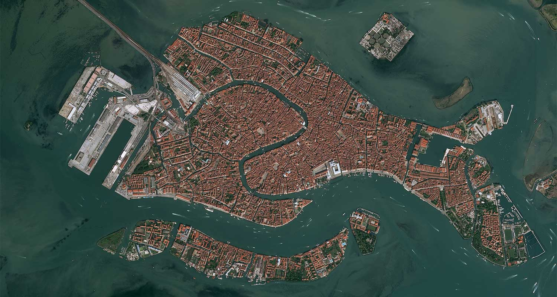 Pléiades Satellite Image - Venice, Italy