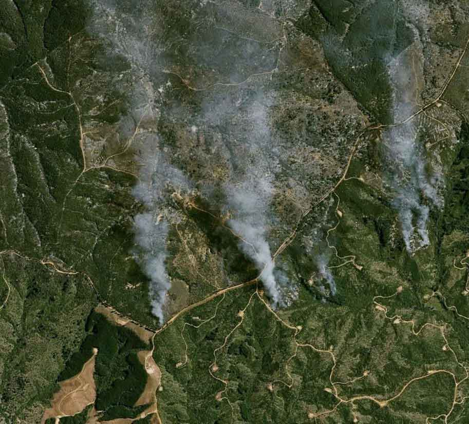 Wildfires in Chile - Onetasking 2
