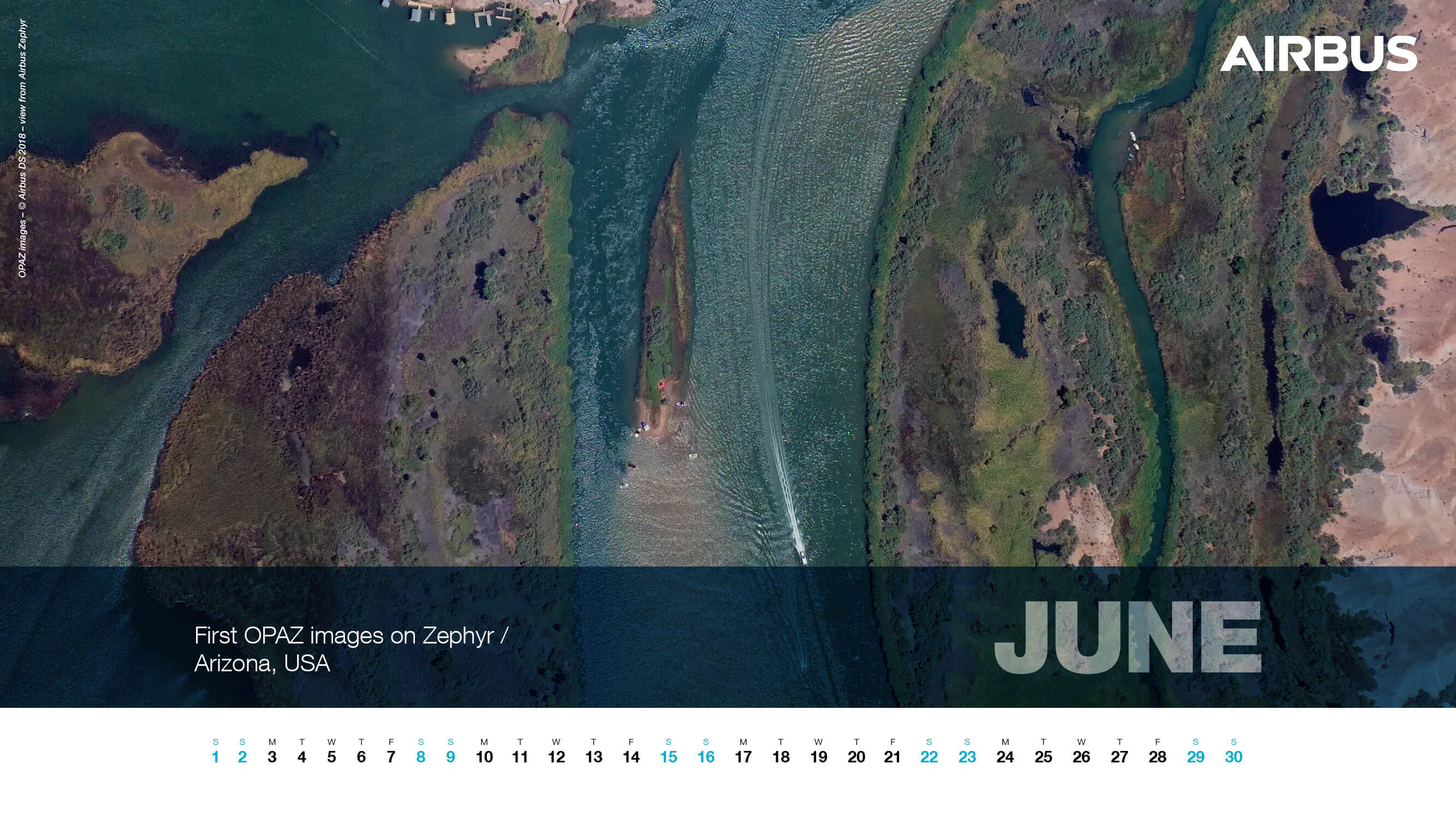 Calendar 2019 - June - First OPAZ images, Arizona, USA - Zephyr - 1920x1080