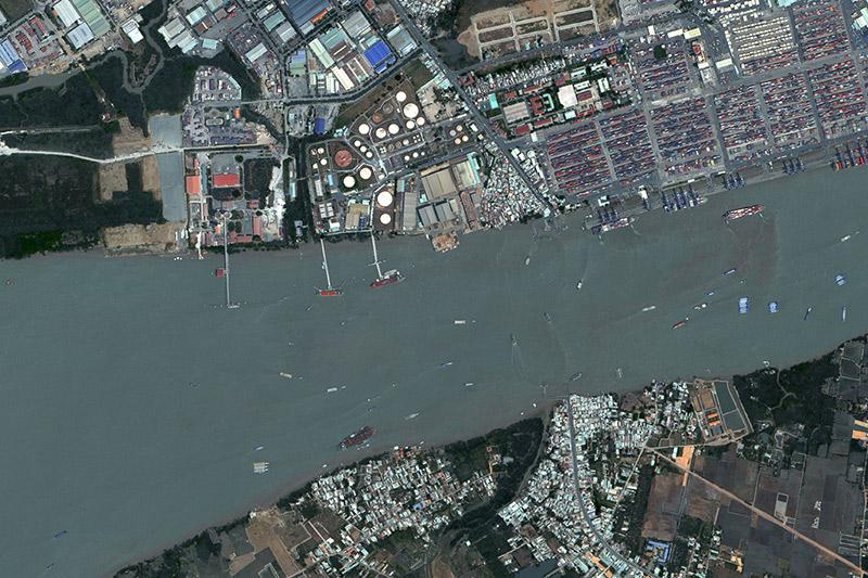 Vision-1 Soai Rp River Ho Chi Minh City, Vietnam