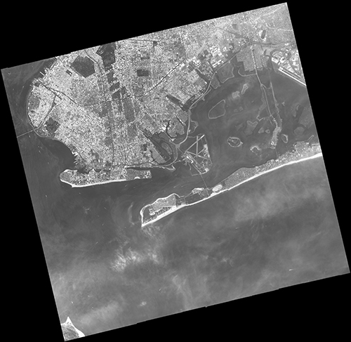 Vision-1 Satellite Image Brooklyn and the Rockaway Penninsula, New York, USA