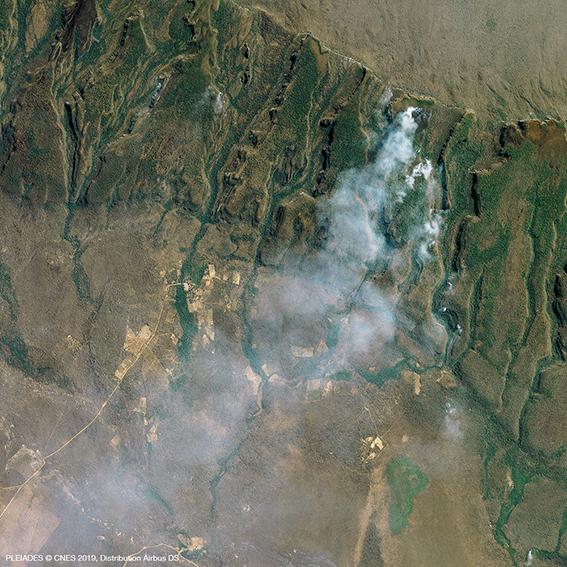 Fire in Amazonia - Bolivia - Pléiades