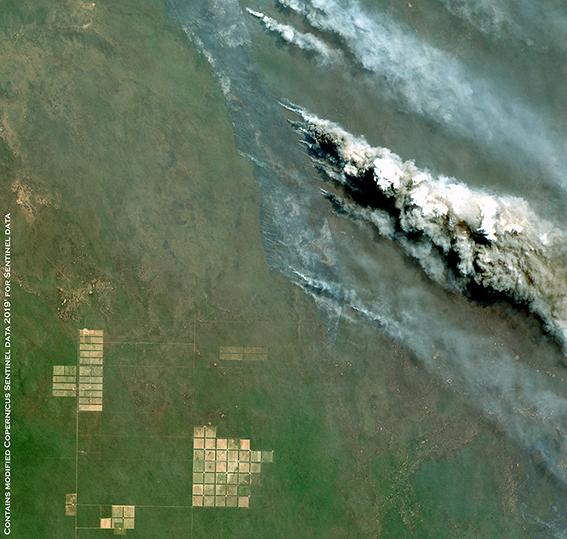 Amazonia fire - Bolivia - Sentinel-2