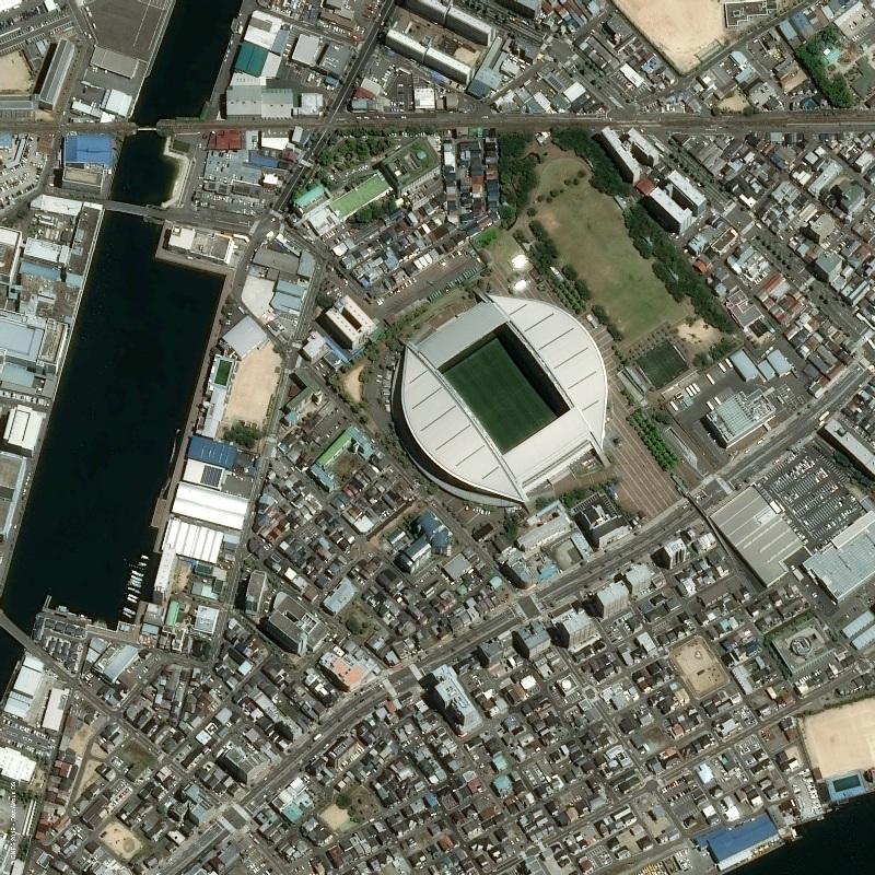 Japan Kobe RWC Misaki Park Stadium