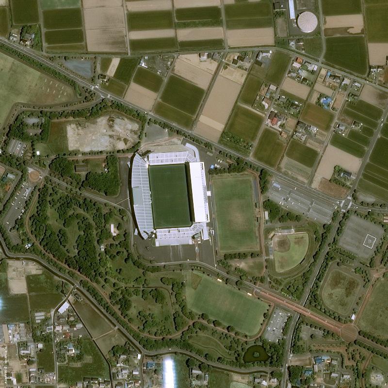 Japan Kumagaya Rugby Stadium