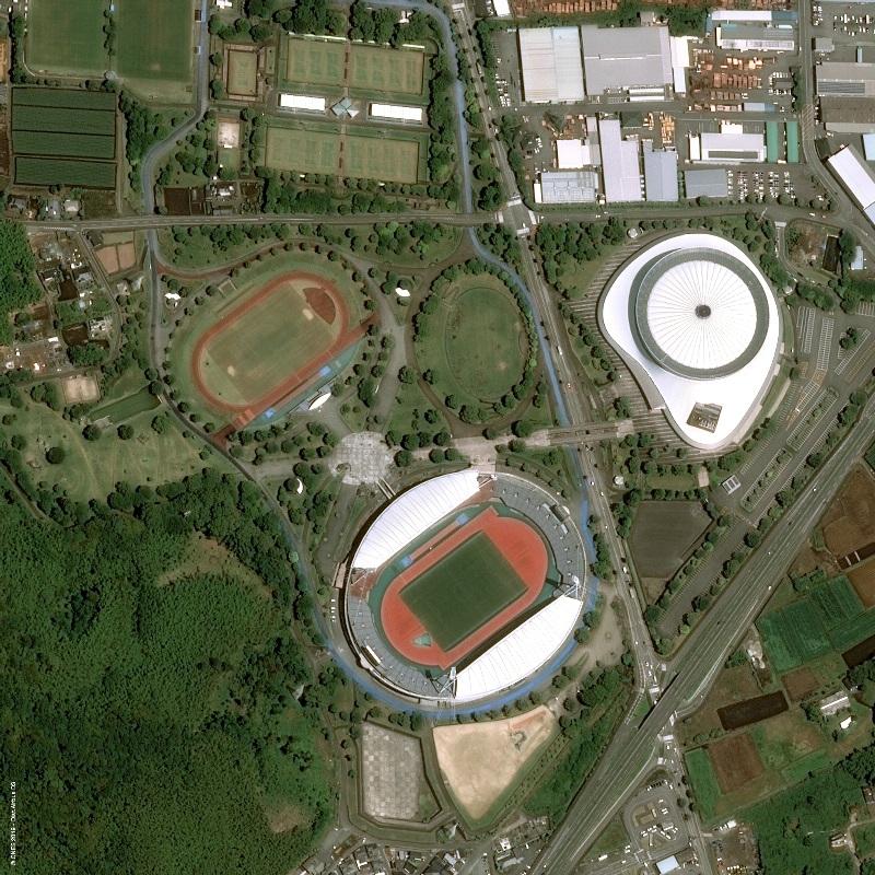 Japan Kumamoto RWC Egeo Kenko Stadium