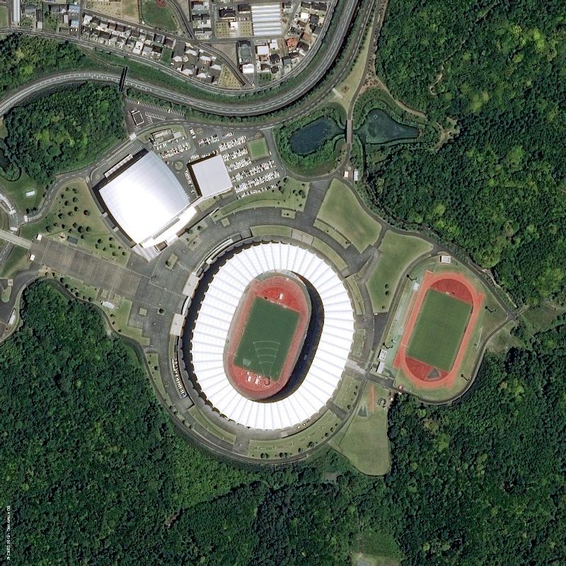 Japan Shizuoka RWC ECOPA Stadium