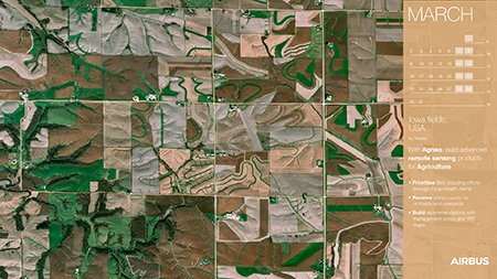 Calendar 2020 - March -  Build Advanced Remote Sensing Products for Agriculture - AgNeo - Display website