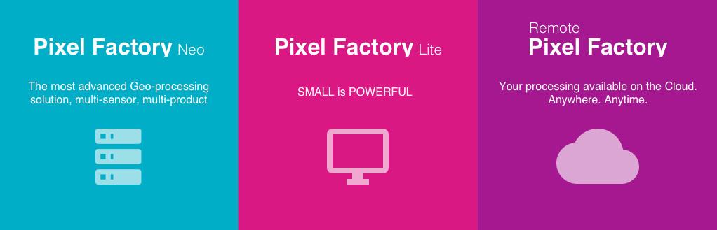 Pixel Factory illustration