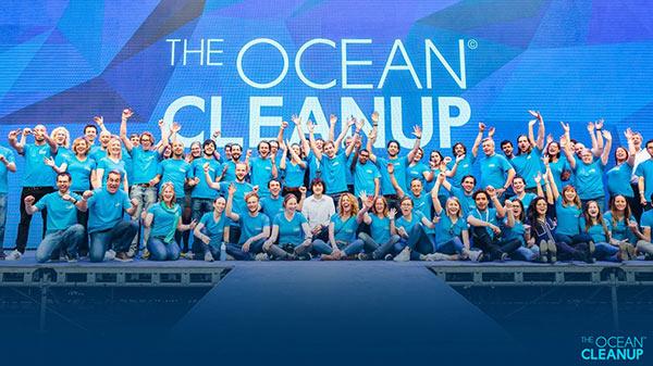 The Ocean Cleanup Team