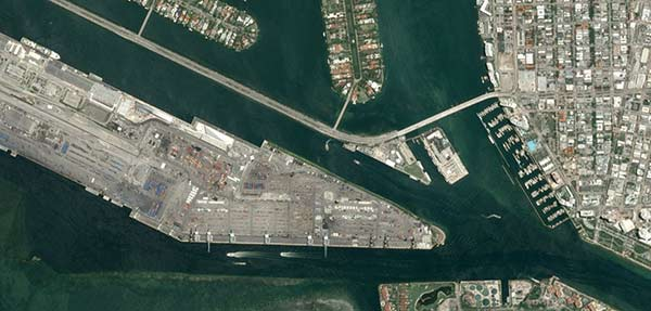 OneAtlas Basemap is a worldwide 1.5m layer of the highest grade satellite imagery
