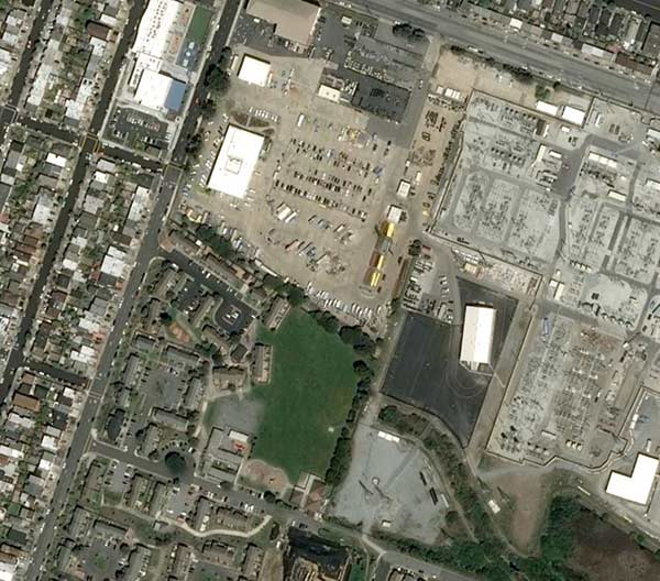 Satellite Image from San fransisco Ensuring Digital Map Quality with Airbus´ OneAtlas  case study