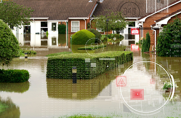 GB region flooded image - GFH case study