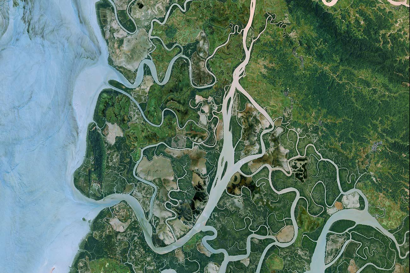 Basemap - OneAtlas Data Illustration
