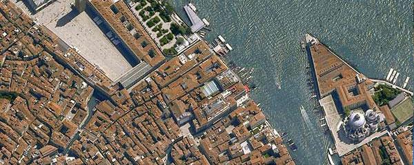 Pléiades 50cm resolution satellite image of Venice, Italy