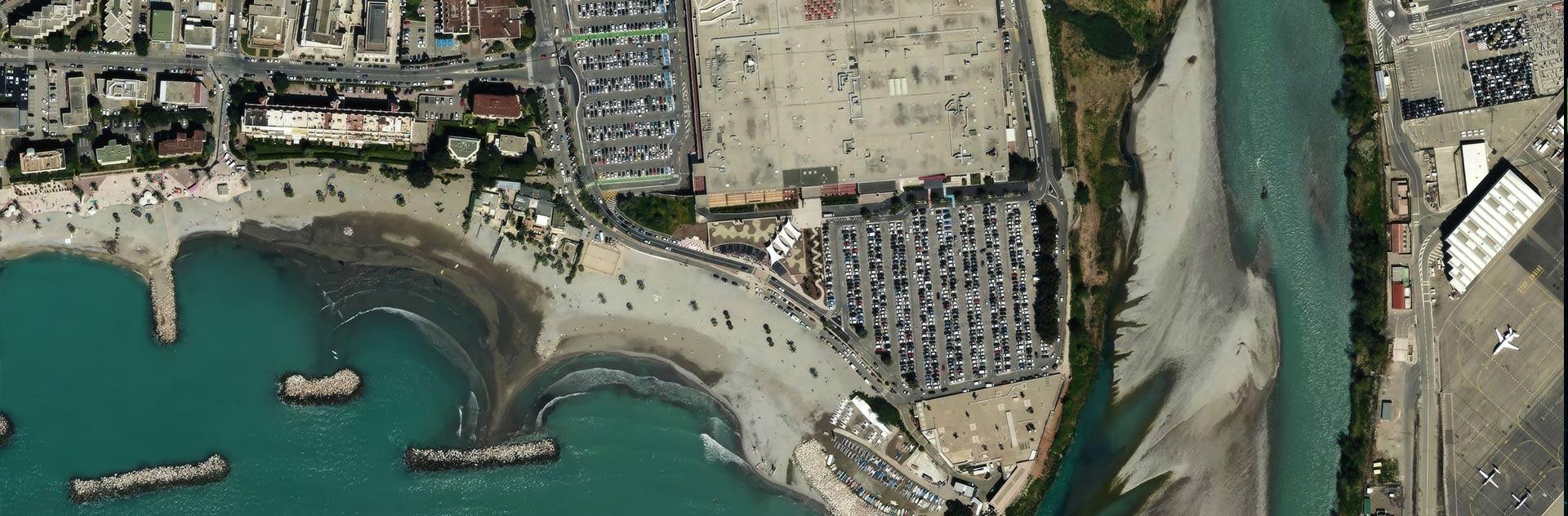 Pléiades Neo 30cm resolution satellite image of Nice, France