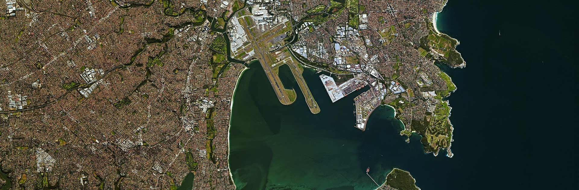 SPOT 7 optical satellite image of Sydney, Australia
