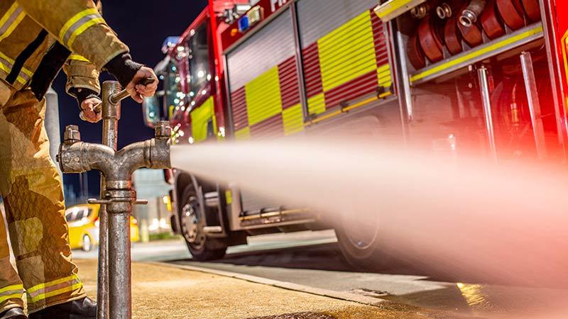 SAFEcommand firemen security