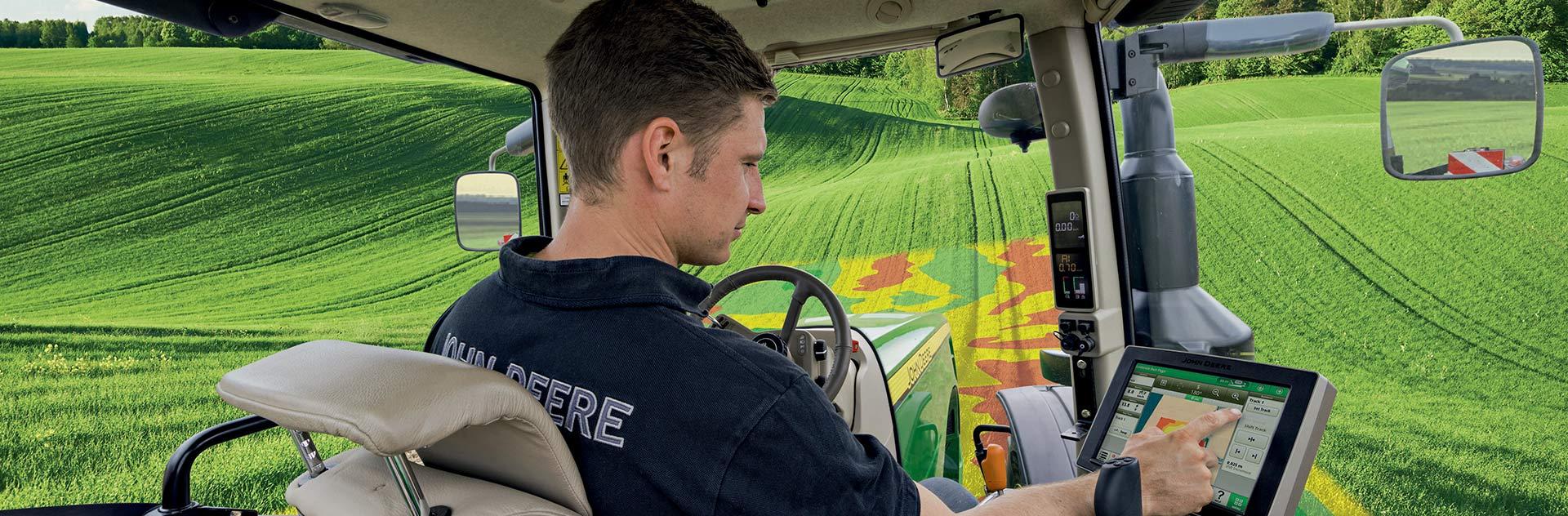 Airbus Precision Farming Variable rate application ©johnDeere
