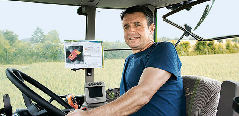 Stéphane Caglioni farmer Axereal