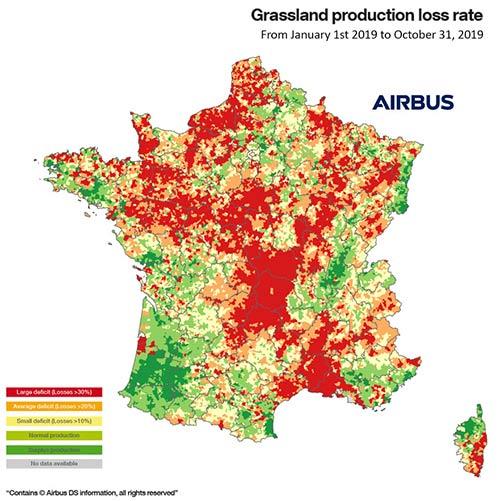 Grassland Production Index 2019 Airbus