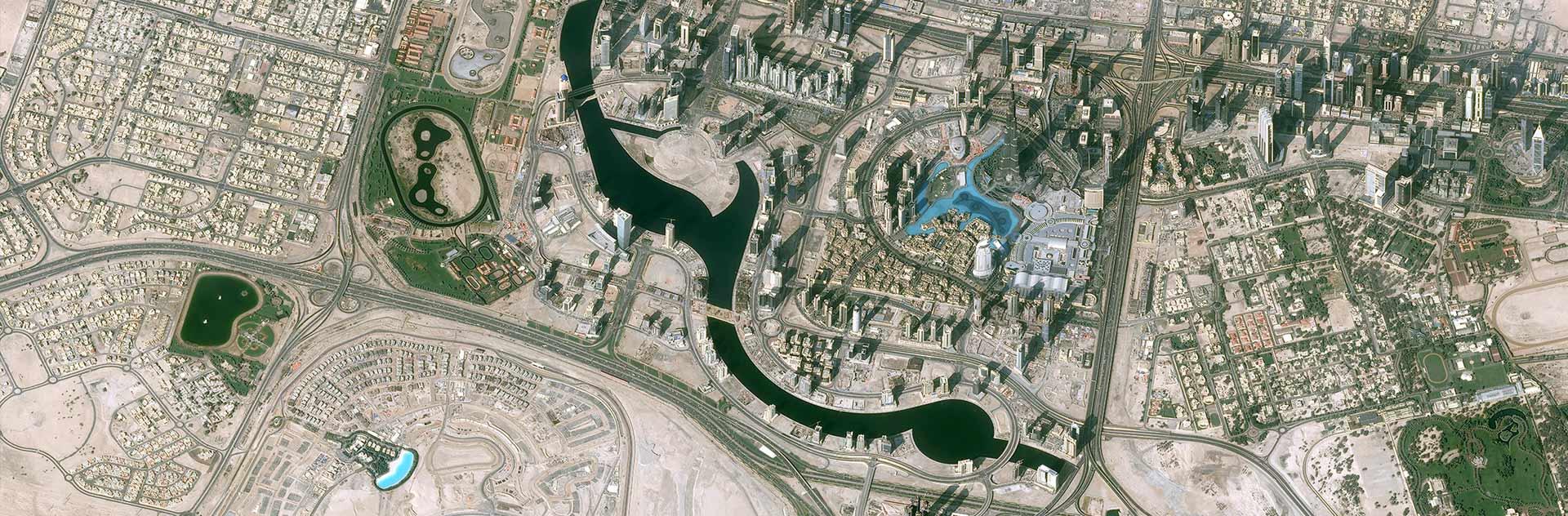 Pléiades Satellite Image - Downtown Dubai
