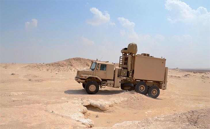 Airbus Multi Sensor Surveillance Vehicle harsh environment