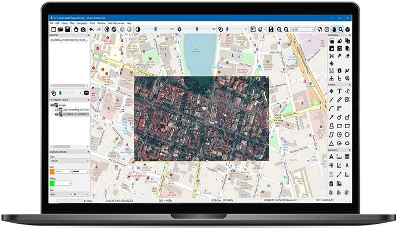 Fortion Image Analyst Lite intuitive and powerful interface