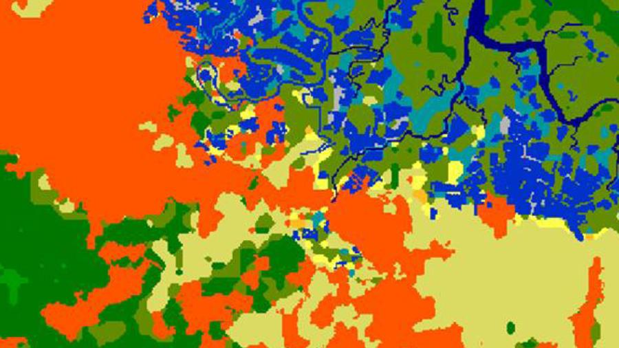 WorldDEM Clutter Map Image