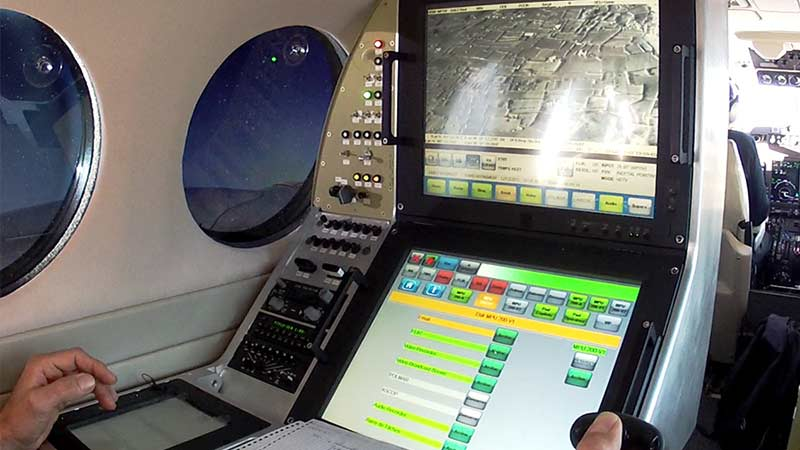 Tactical situation management system for light mission aircraft and helicopters