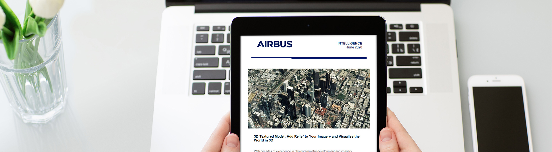Airbus - Thank you for signing up our News – ipad