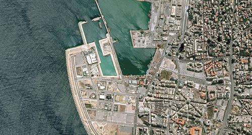Pléiades Satellite Image - Beirut Harbour