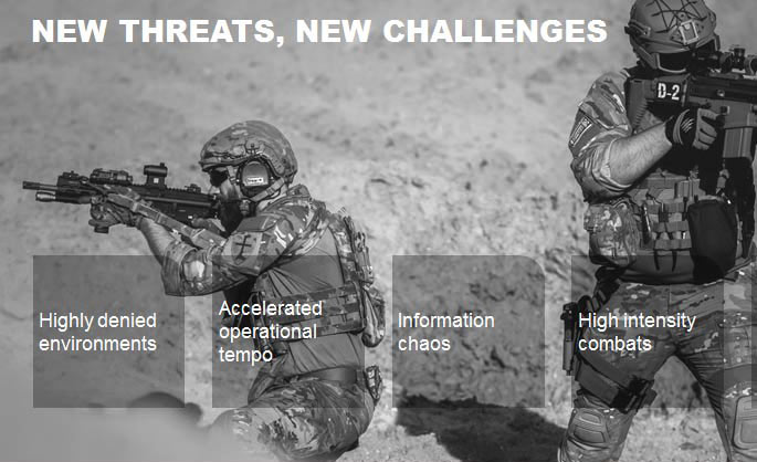 Defence C5ISR -Airbus Intelligence  enables digitalised  warfighting on the battlefield