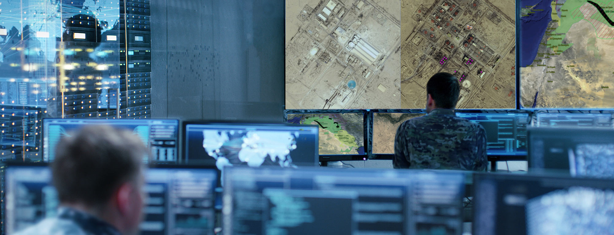 Airbus Intelligence manages the Intelligence cycle in a joint and multinational context.