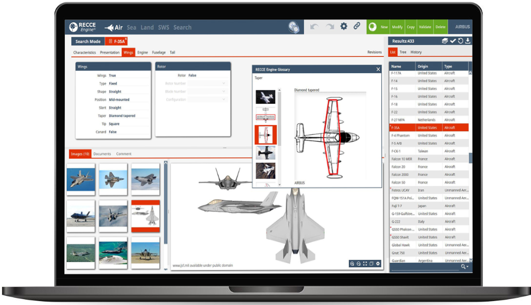 Fortion RECCE Engine user friendly recognition software