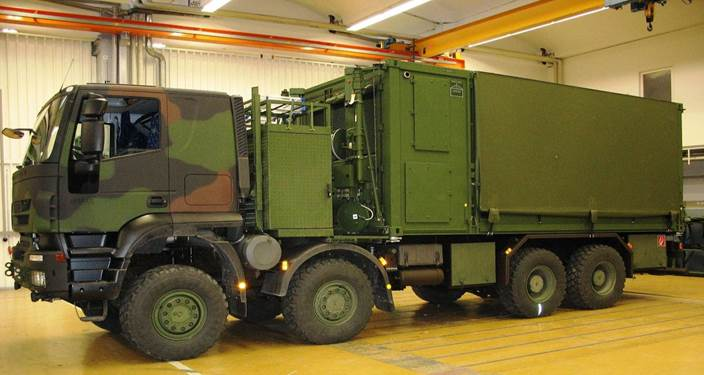 Airbus In-Service Support mobile command post