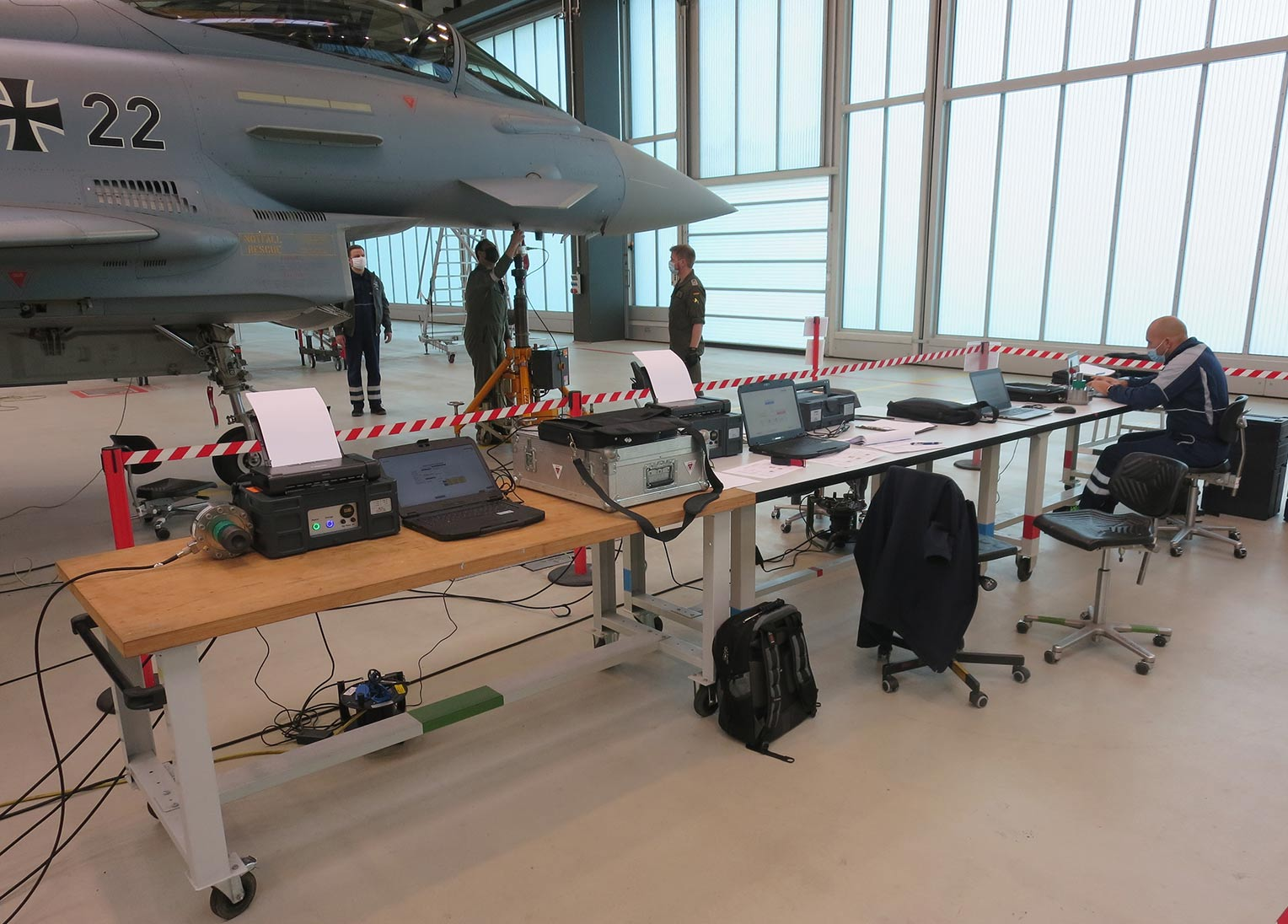 Airbus In-Service Support System acceptance campaign