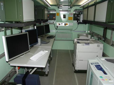 Airbus In-Service Support container interior