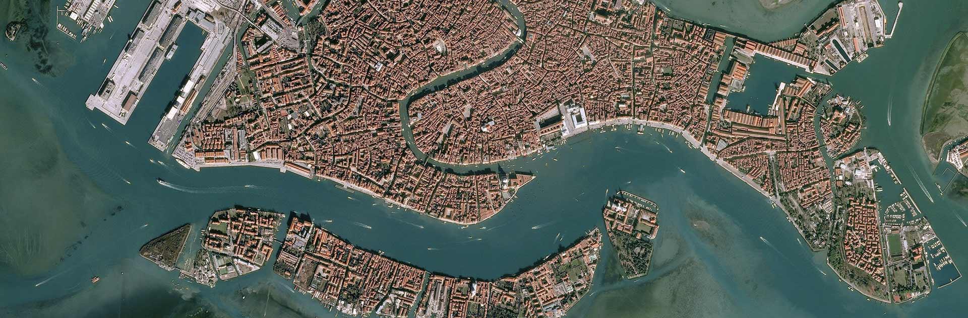 Satellite Image Pléiades 50cm resolution - Venice, Italy