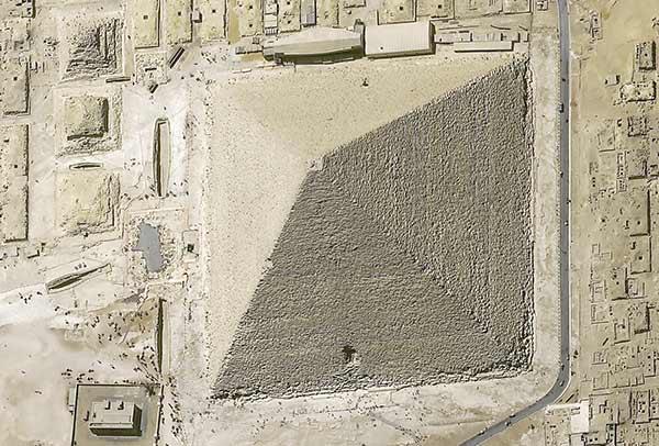 Satellite Image Pléiades Neo- Cairo - Acquisition angle 23° - 30cm resolution