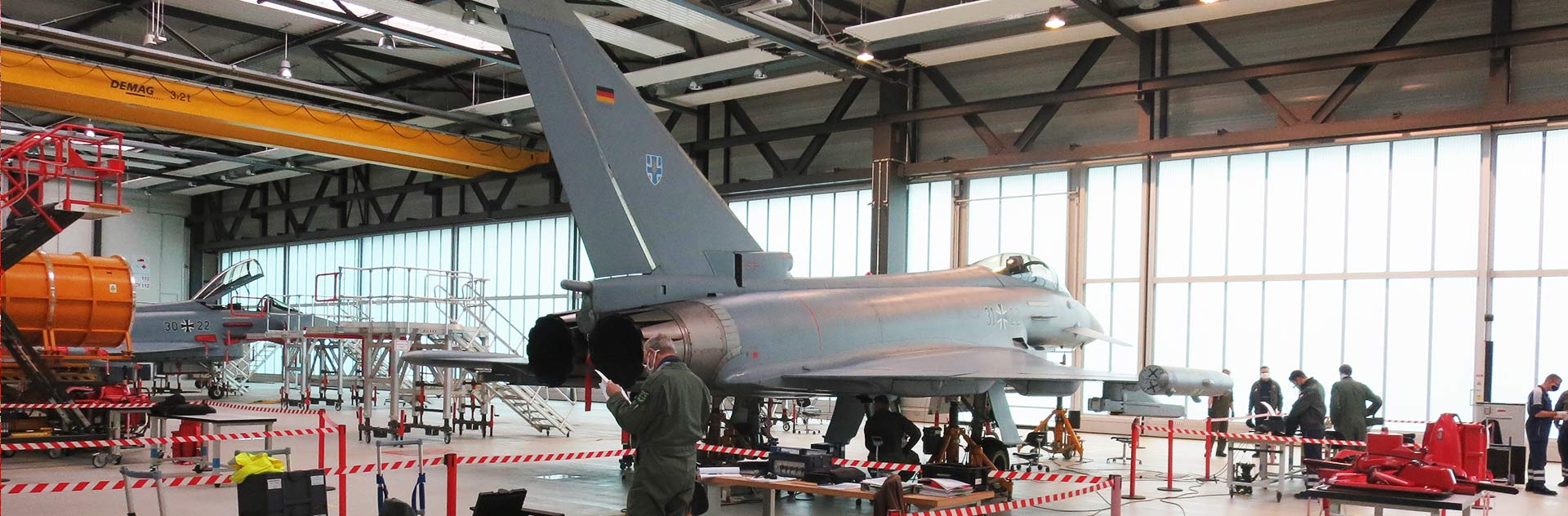 Successful System Acceptance Test and delivery of an aircraft weighing system for the German Armed Forces