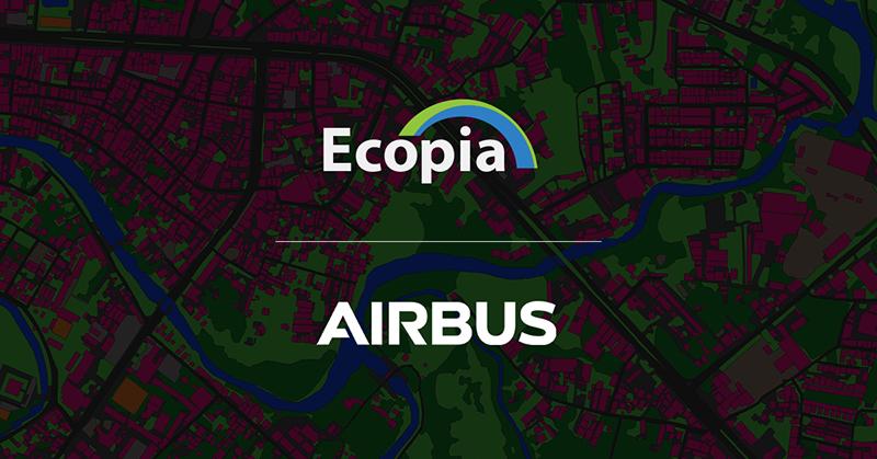 Ecopia-Airbus Partnership logo