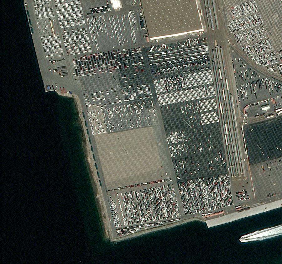 Pléiades imagery - Harbor of San Diego, CA -31 January 2020