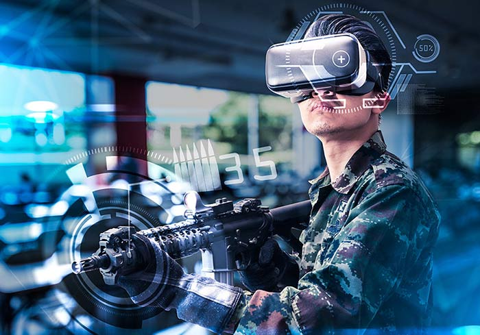 Virtual, augmented and mixed reality (VR, AR, MR) training provided by Airbus